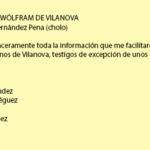 As minas de volframio de Vilanova