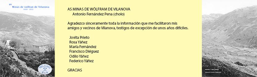 Las minas de volframio de Vilanova