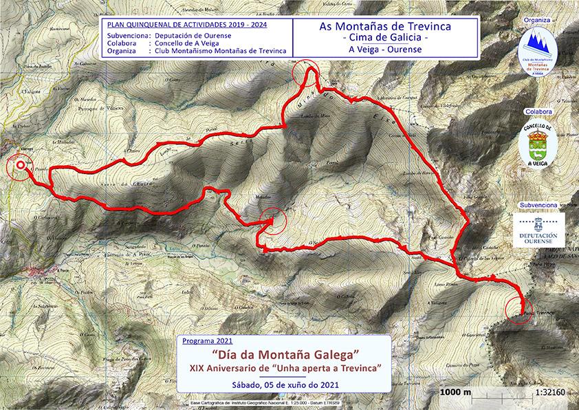 Mapa web Trevinca